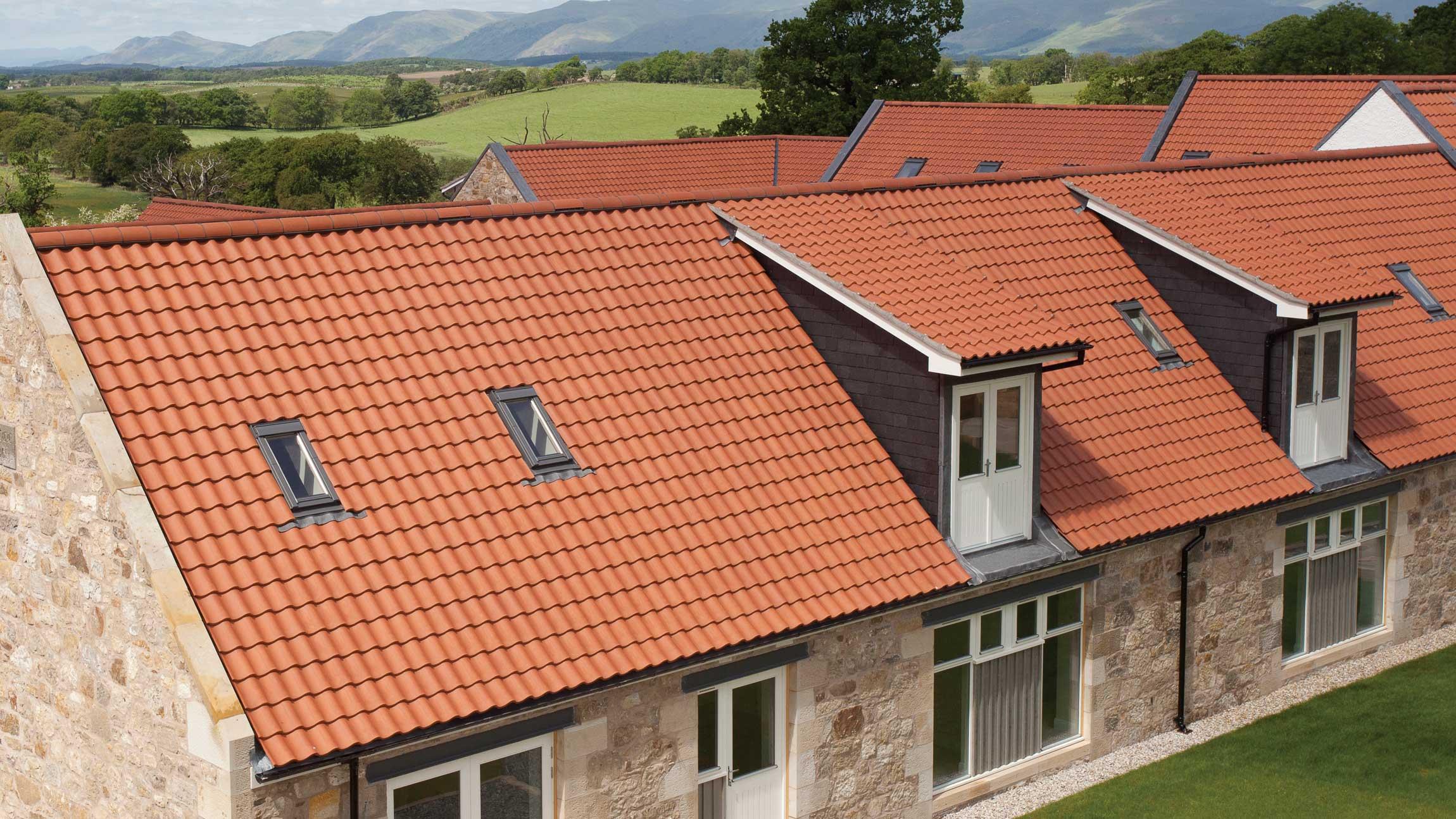 Roofing Products Sandtoft Concrete Pantiles Jpg